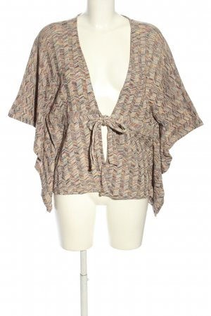 Vero Moda Knitted Poncho allover print casual look