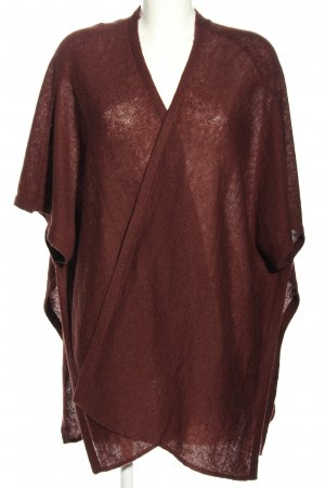 Vero Moda Knitted Poncho brown casual look