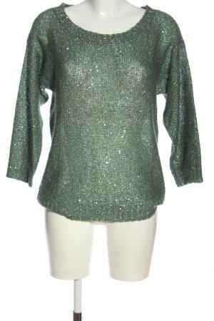Vero Moda Strickpullover grün Casual-Look