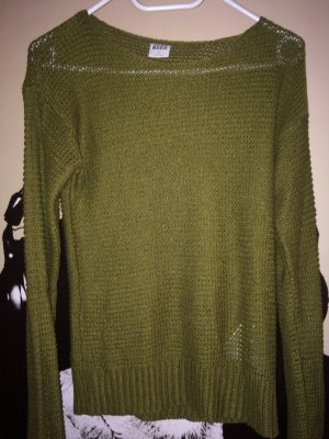Vero Moda Gehaakte trui olijfgroen