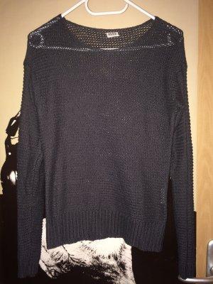 Vero Moda Gehaakte trui grijs