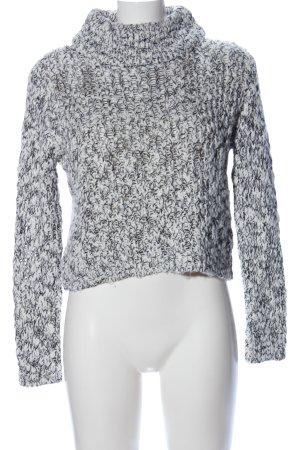 Vero Moda Knitted Sweater white-black casual look