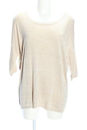 Vero Moda Strickshirt creme Casual-Look