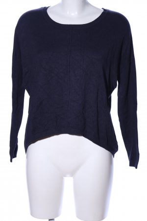Vero Moda Strickshirt blau Casual-Look