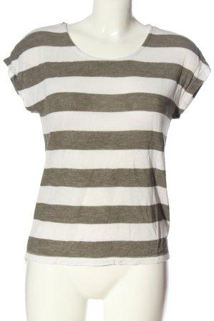 Vero Moda T-Shirt weiß-hellgrau meliert Casual-Look