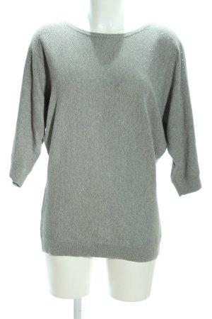 Vero Moda Strickshirt khaki meliert Business-Look