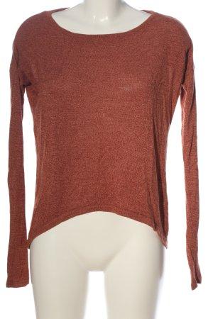 Vero Moda Camisa tejida marrón look casual