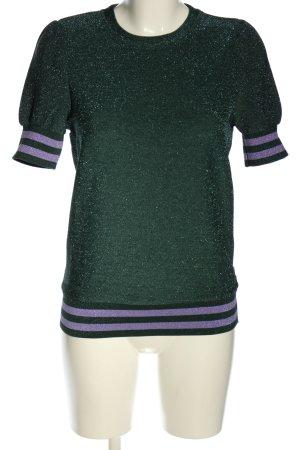 Vero Moda Strickshirt Streifenmuster Casual-Look
