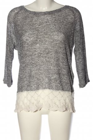 Vero Moda Knitted Jumper light grey flecked casual look