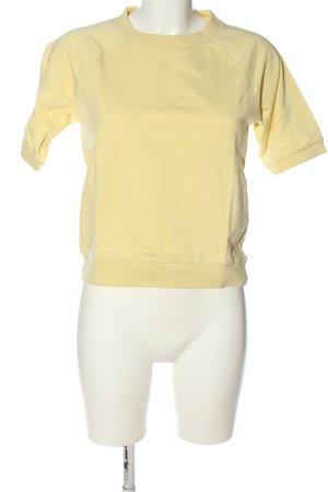 Vero Moda Strickshirt blassgelb Casual-Look