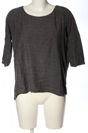 Vero Moda T-shirts en mailles tricotées gris clair moucheté