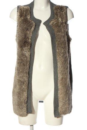 Vero Moda Knitted Vest light grey flecked casual look