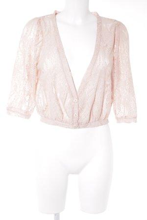 Vero Moda Strickweste rosé Casual-Look