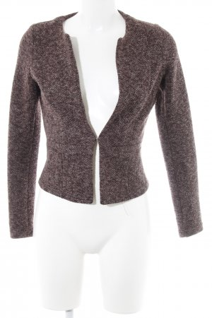 Vero Moda Strickweste rostrot-purpur Casual-Look