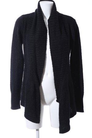 Vero Moda Cache-cœur en tricot bleu moucheté style décontracté