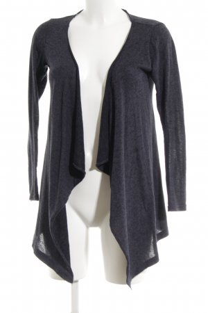 Vero Moda Knitted Wrap Cardigan blue flecked casual look