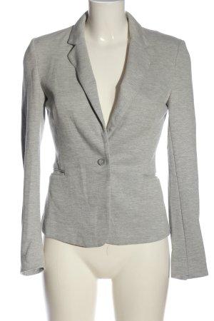 Vero Moda Sweat Blazer light grey flecked business style