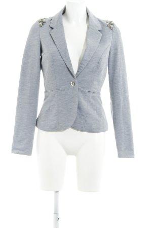 Vero Moda Sweatblazer hellgrau Business-Look