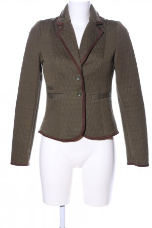 Vero Moda Sweat Blazer khaki quilting pattern casual look