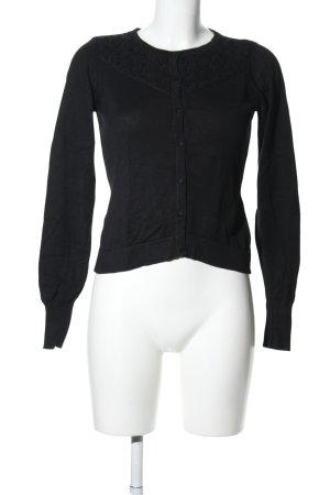 Vero Moda Sweatjacke schwarz Casual-Look