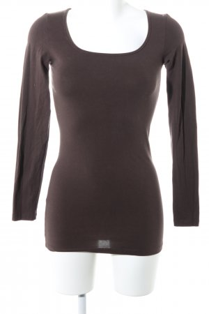 Vero Moda Sweatshirt braun Casual-Look