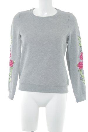 Vero Moda Sweatshirt florales Muster Casual-Look