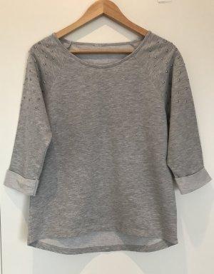 Vero Moda Sweatshirt mit Nieten und 3/4-Arm