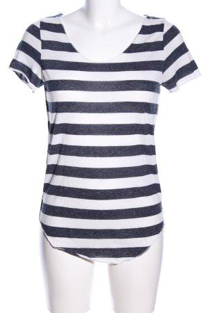 Vero Moda T-Shirt weiß-schwarz Allover-Druck Casual-Look