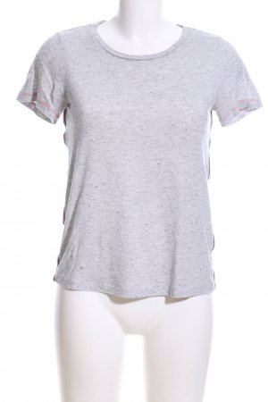 Vero Moda T-Shirt hellgrau meliert Casual-Look