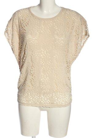 Vero Moda T-Shirt creme Casual-Look