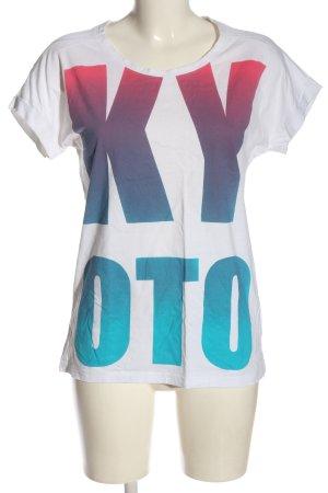 Vero Moda T-Shirt Schriftzug gedruckt Casual-Look