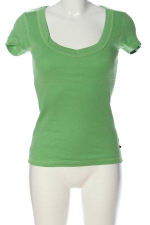 Vero Moda T-Shirt grün Casual-Look