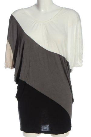 Vero Moda Longshirt mehrfarbig Casual-Look