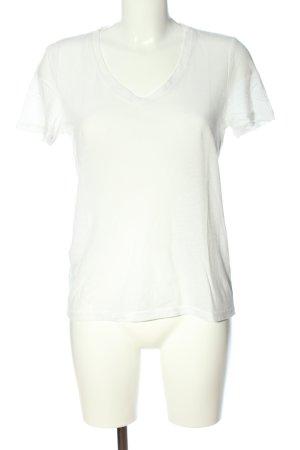 Vero Moda T-Shirt weiß-schwarz Schriftzug gedruckt Casual-Look