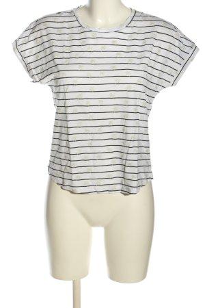 Vero Moda T-Shirt Allover-Druck Casual-Look