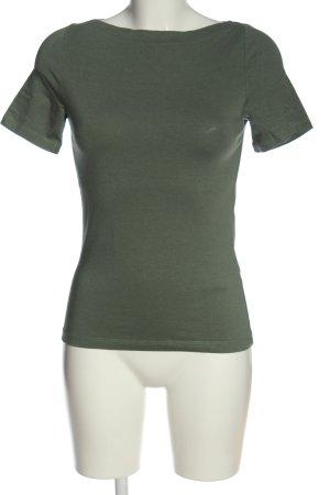 Vero Moda T-Shirt khaki meliert Casual-Look