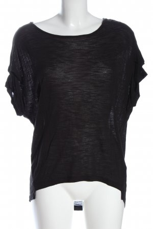 Vero Moda T-Shirt schwarz meliert Casual-Look