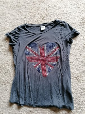Vero Moda T-Shirt anthrazit Gr. S
