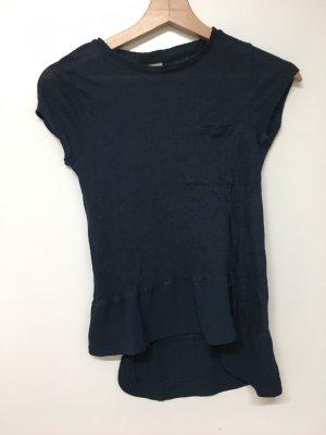 Vero Moda / T-Shirt aus Feinstrick und Materialmix