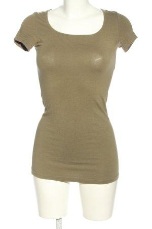 Vero Moda T-Shirt braun meliert Casual-Look