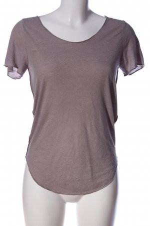 Vero Moda T-Shirt pink meliert Casual-Look