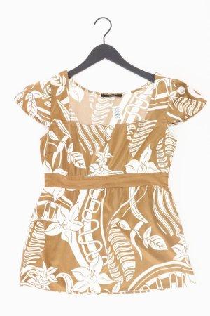Vero Moda T-Shirt Größe M Kurzarm braun aus Polyester
