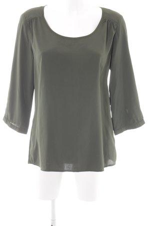 Vero Moda T-Shirt khaki Glanz-Optik