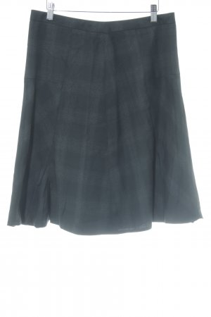 Vero Moda Taffeta Skirt black-grey check pattern elegant