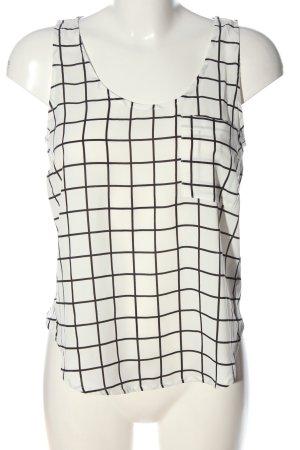 Vero Moda Tanktop wit-zwart volledige print casual uitstraling