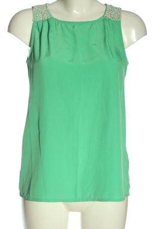 Vero Moda Tanktop grün Casual-Look