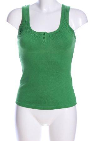 Vero Moda Tanktop groen casual uitstraling