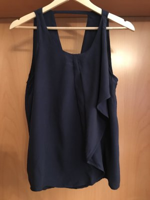 Vero Moda Frill Top dark blue