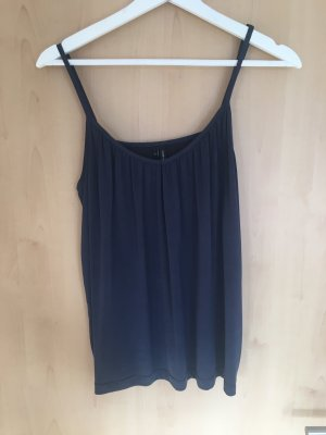 Vero Moda Camisole donkerblauw-blauw