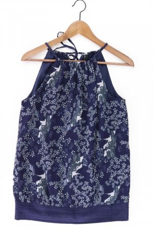 Vero Moda Top Größe M blau aus Polyester